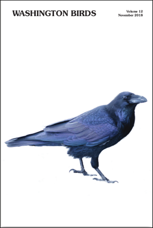 Volume 12 Cover Photo of a Raven