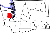 map showing Mason Co in state
